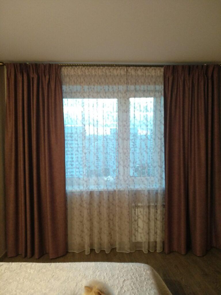 Красивые шторы в гостиную в Подольске