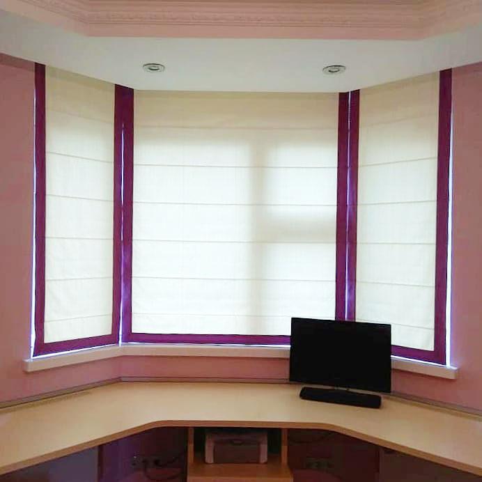 Заказать римские шторы в комнату подростка в Москве и Московской области