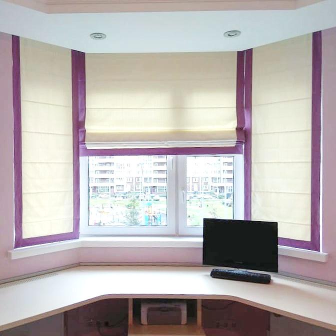 Заказать шторы в комнату подростка в Москве и Московской области