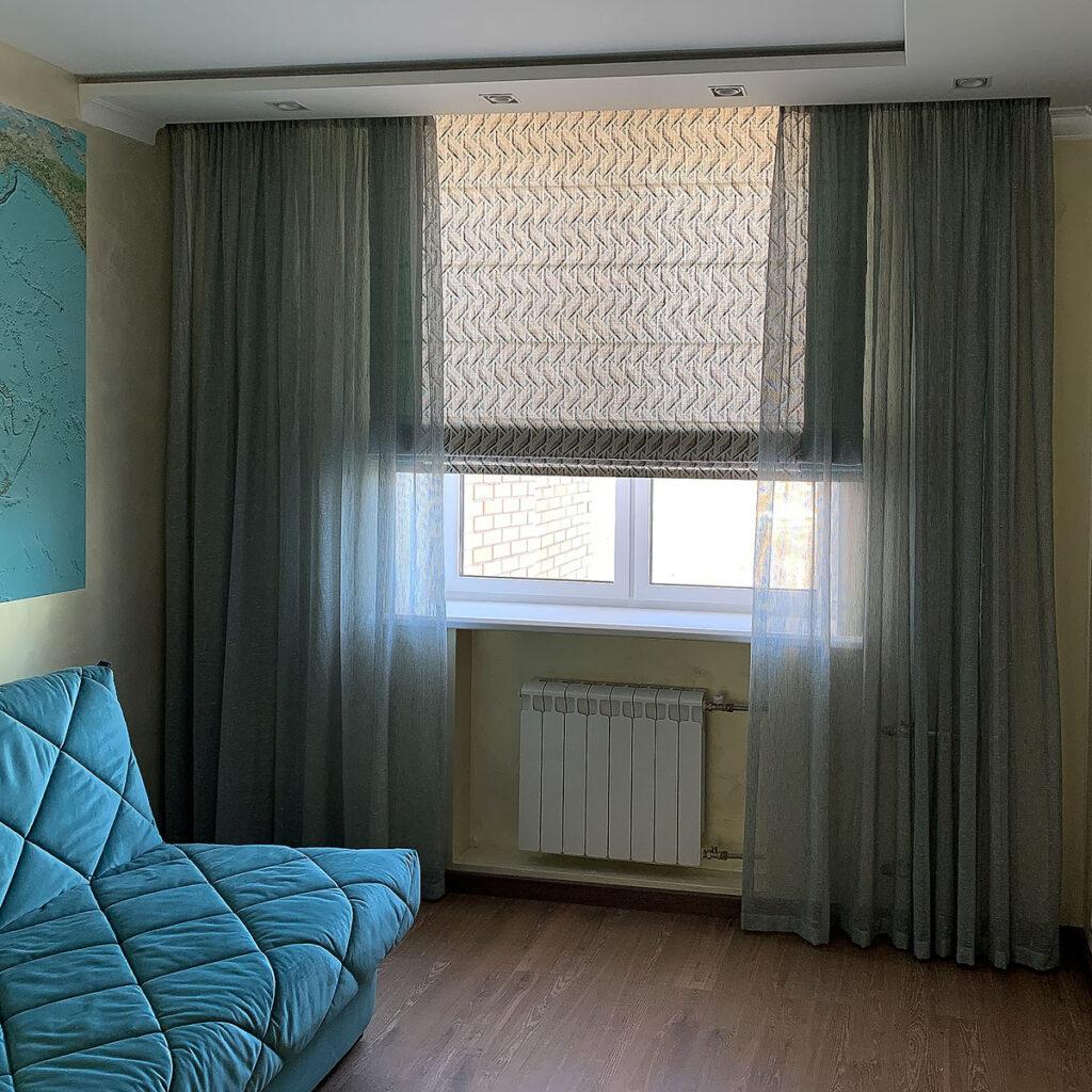 Римские шторы на окно