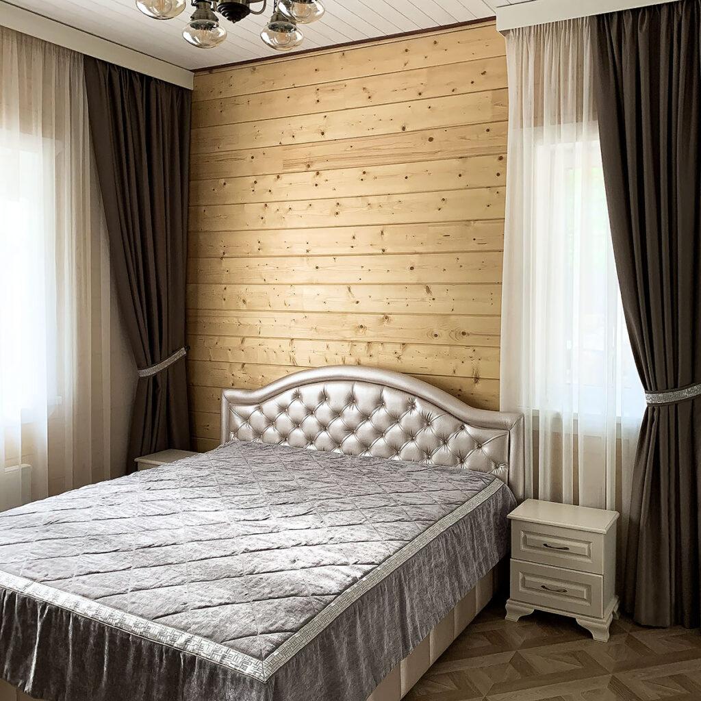 Заказать шторы в спальню блэкаут