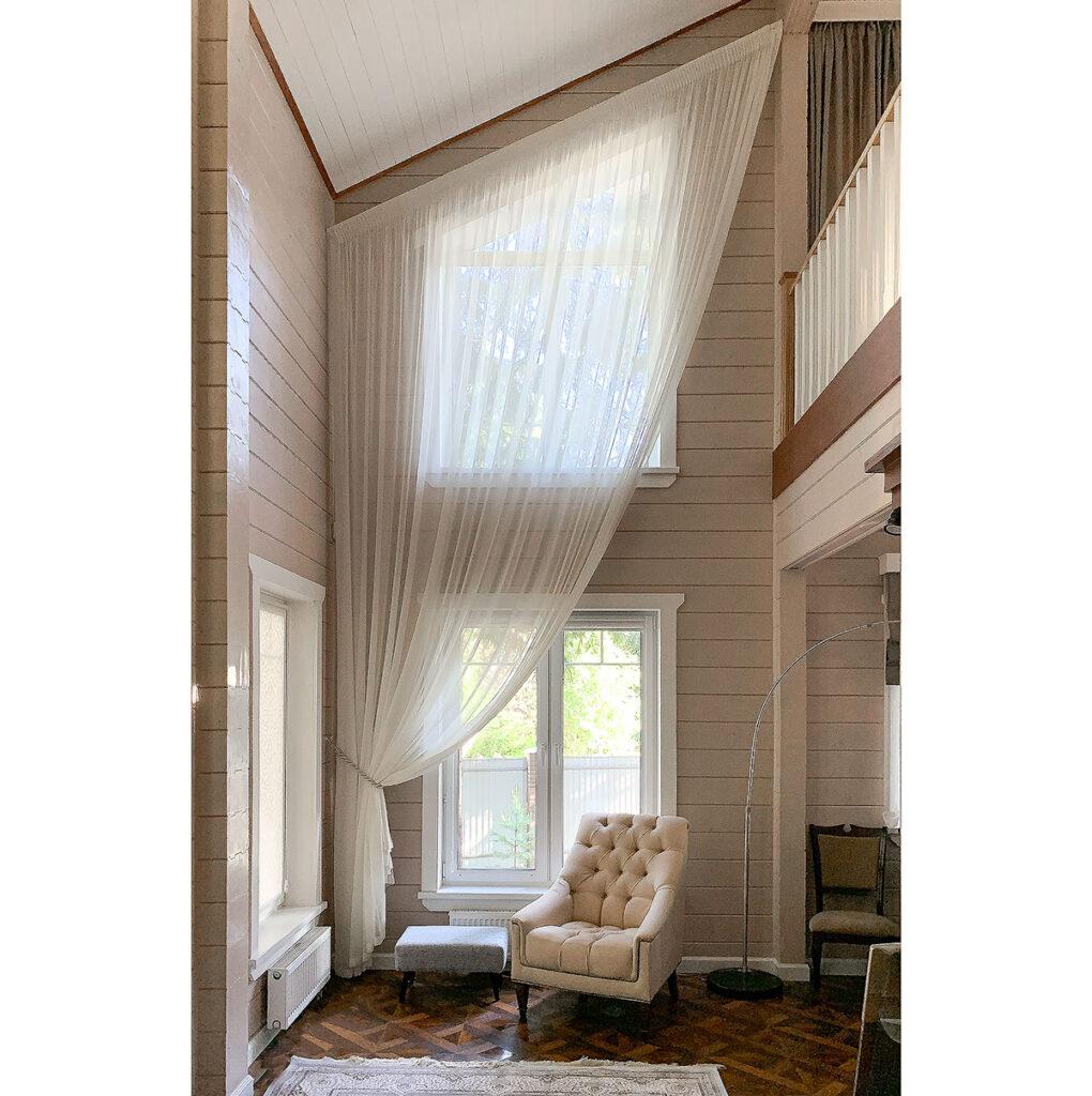 Заказать шторы в загородный дом
